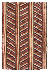 HC-767 Camp Dunham Creek  Traditional Cotton Rug (r)